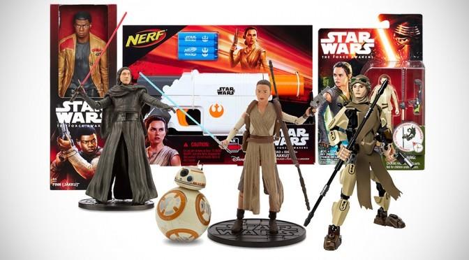 Disney Launches New Star Wars: The Force Awakens Merchandises