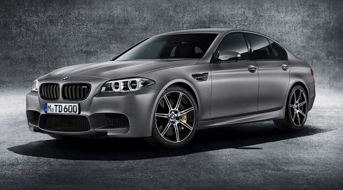"""BMW Celebrates 30 Years Of M5 With """"Most Powerful"""" M5 Yet"""