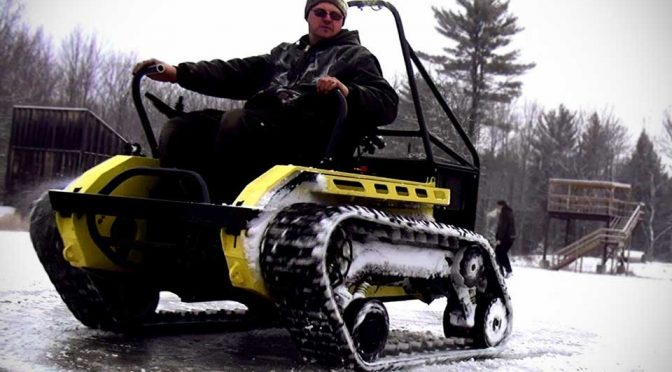 Ripchair Will Turn Any Wheelchair Into An Off-Road-Happy Wheelchair