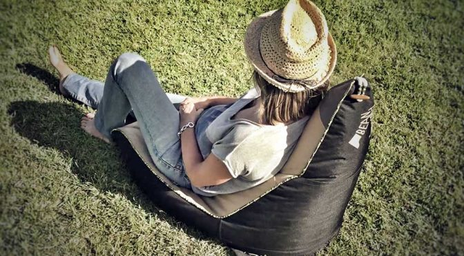 Bean About Puts A Bean Bag On Your Back, Lets You Sit On It Anywhere