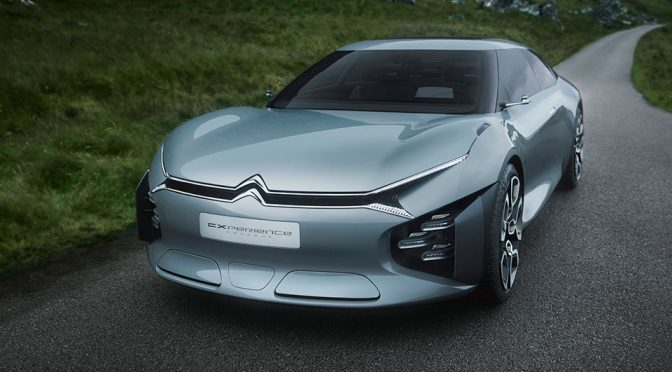 Citroën's Futuristic Concept Revealed Ahead Of Paris Motor Show