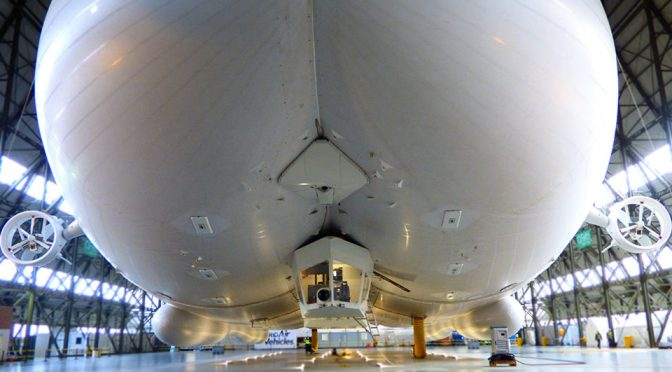 Airlander Emerged From Hanger And It Literally Is A Big-Ass Aircraft