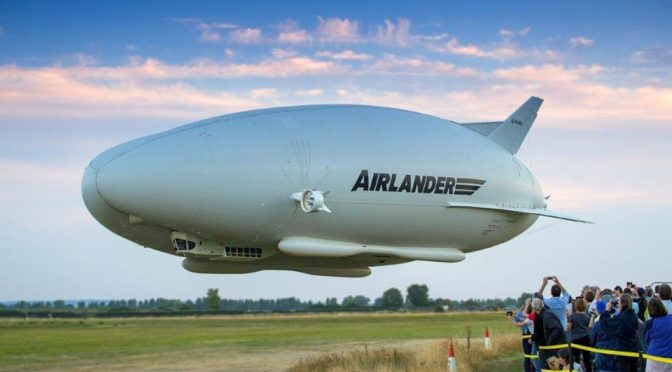 The World's Longest Aircraft (And Biggest Butt) Took To The Skies