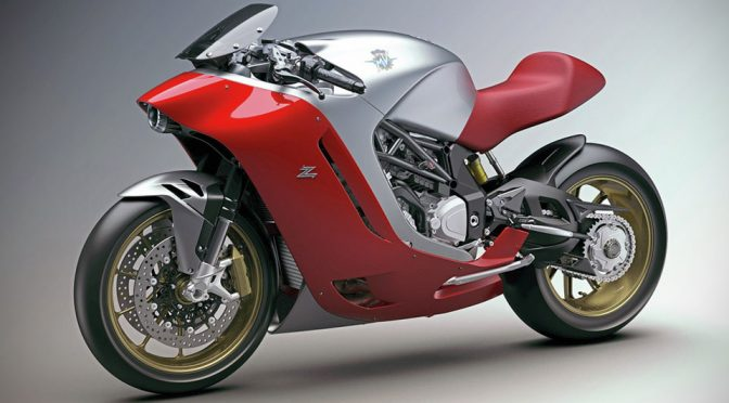 Check Out This Zagato Designed Motorcycle For MV Agusta