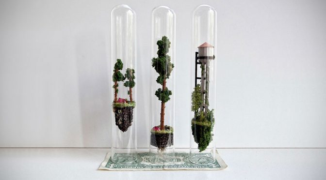 Floating World In Test Tube Looks Like Something Right Out Of <em>Avatar</em>