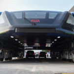 China Demoed The Ambitious Elevated Bus With Cars Moving Under It