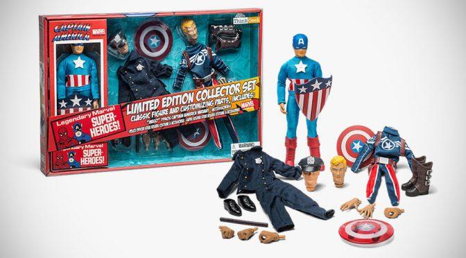 This Exclusive <em>Captain America</em> Retro Set Has Steve Rogers As A Police Officer