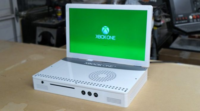 Eds Junk Turned The New Xbox One S Into A Laptop And It Looks Awesome