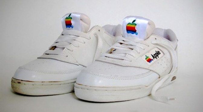 Do You Know Apple Actually Made A Pair Of Sneakers In The 90s?