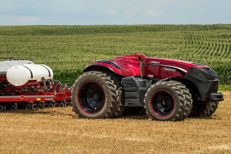 Case Ih Autonomous Farming Tractor Concept Is The Future