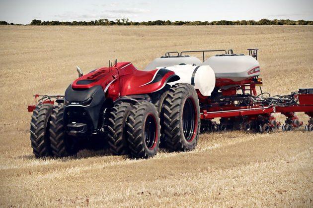 Case IH Autonomous Farming Tractor Concept