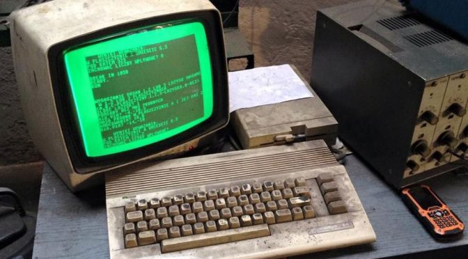 Polish Auto Repair Shop Is Still Using A Commodore 64 To Balance Driveshafts