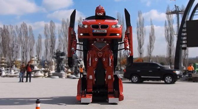 Turkey Company Turned A BMW Into A Real-life, Transforming <em>Transformers</em>
