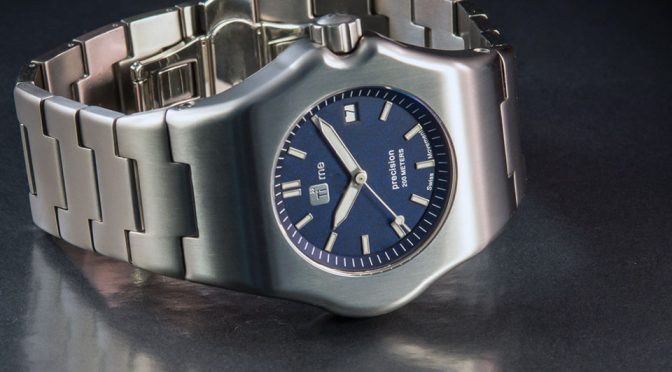 Robust Watch Crafted Entirely From Titanium Is Simply A Sight To Behold
