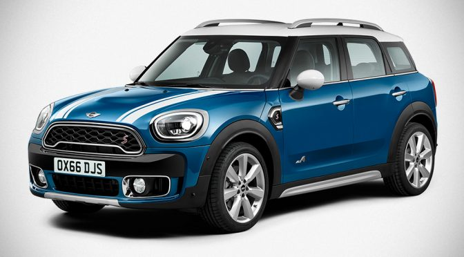 All-New MINI Countryman Unveiled Along With A Plug-in Hybrid Variety