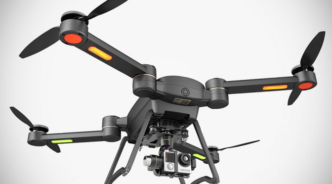 GDU Joins The Folding Imaging Drone Bandwagon With $850 Advanced Byrd