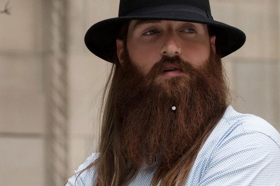 Chin curtain beard - photo#22