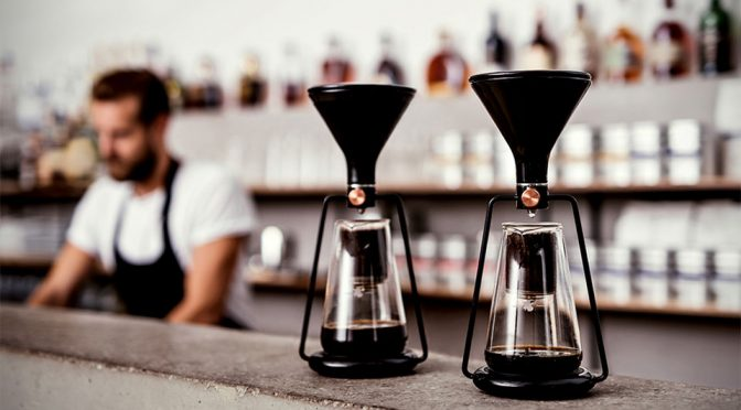 GINA Coffee Maker Brings Together 3 Brewing Techniques With Technology