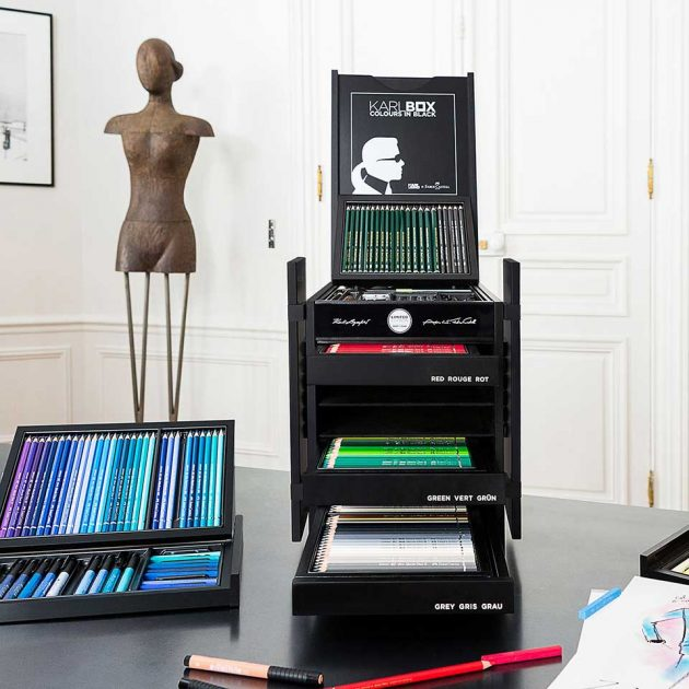Karlbox Coloring And Drawing Set by Karl Lagerfeld