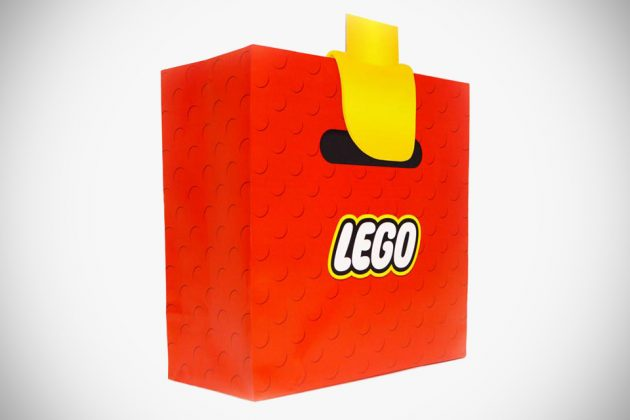 LEGO Minifig Hands Shopping Bag