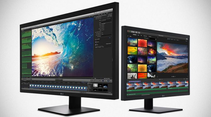 LG Out UltraFine Displays Designed Specifically For Apple's New MacBooks