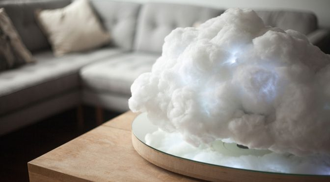 This Floating Cloud Wireless Speaker Has No Thunder, Only Sweet Tunes