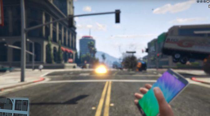 Modder Triumph As YouTube Lifted Ban On <em>GTA V</em> Galaxy Note 7 Bomb Mod Video