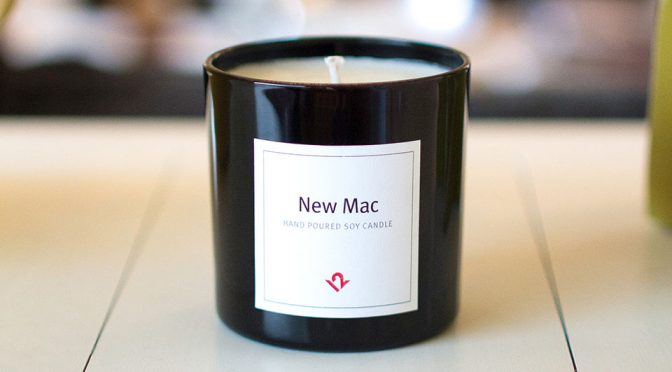 This Candle Lets You Enjoy The Scent Of A New Mac Without Buying One