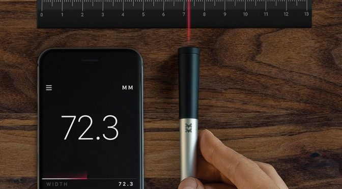 Meet 01, The Pen That Measures With A Surveyor's Wheel-Like Roller