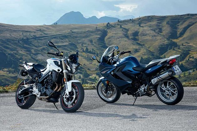 2017 BMW F-800R and F 800 GT