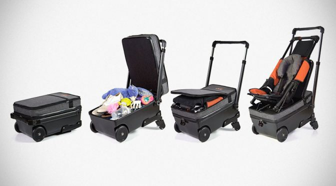 Suitcase Baby Stroller Hybrid Is The Best Thing Since, Well, Baby Stroller