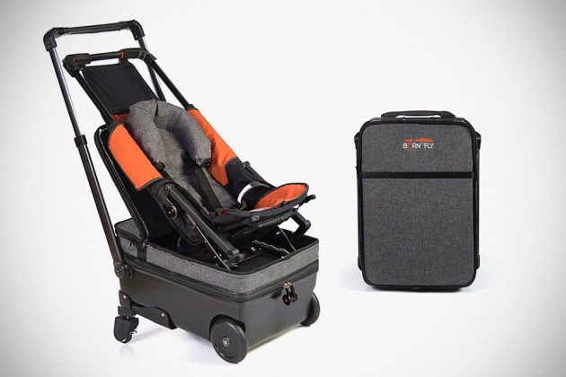 Born To Fly Baby Suitcase Baby Stroller Hybrid