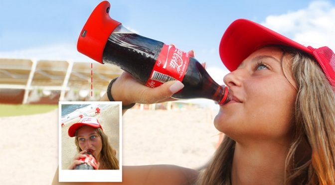 Coca-Cola Selfie Bottle Automatically Takes A Selfie As You Drink