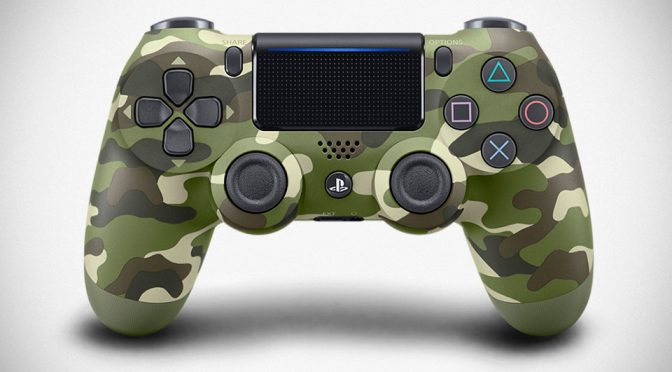 New Green Camouflage Dualshock 4 Controller Arriving In January 2017