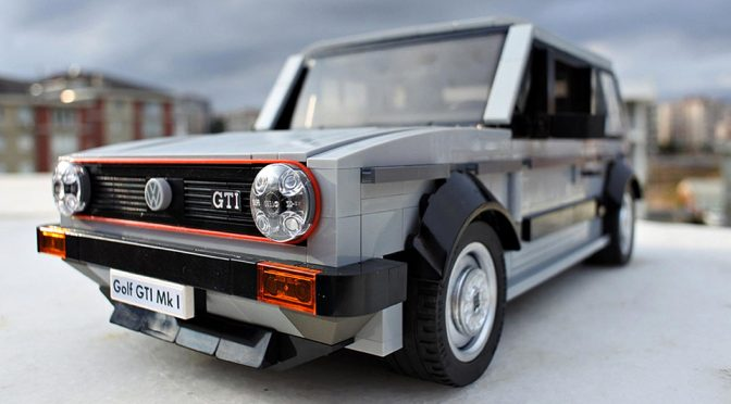This LEGO VW Golf Mk1 GTI Deserves To Be Made Into An Official Set