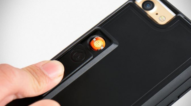 This iPhone 7 Case With Built-in Lighter Is Literally The Hottest iPhone Case