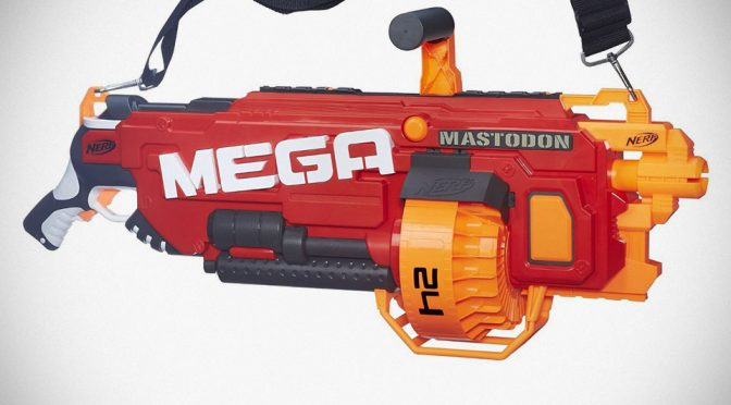Meet Mastodon, The Biggest Foam Dart-shooting NERF Blaster Ever