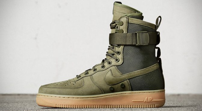 Ballistic Nylon Nike Special Field Air Force 1 Is Very Military-ish, Very Cool