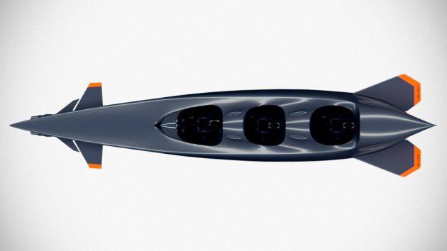 Ortega Mk. 1C Three Seater Personal Submarine