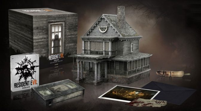 Buy A <em>Resident Evil 7</em> Collector's Edition, Get A Mansion That Plays Music