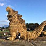 Some Folks Built A 7-Meter Tall Rice Straw <em>Godzilla</em> And It Looks Amazing!