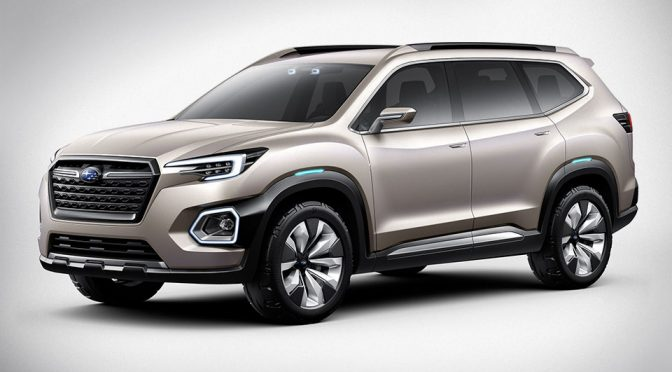Subaru Goes Big With New VIZIV-7 SUV Concept For North America Markets