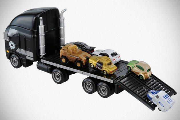 Tomica Star Wars Star Cars Darth Vader Car Carrier