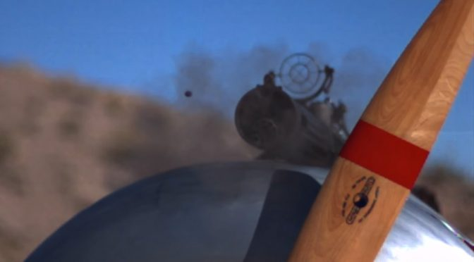 Watch WWI Airplane's Machine Gun Vs Its Own Propeller In Slow-Mo