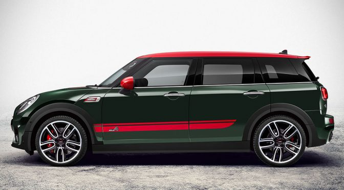 John Cooper Works Touched 2017 MINI Clubman Gets 231 Horsepower