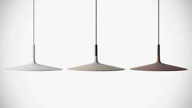 Aplomb XL Concrete Hanging Light by LucidiPevere