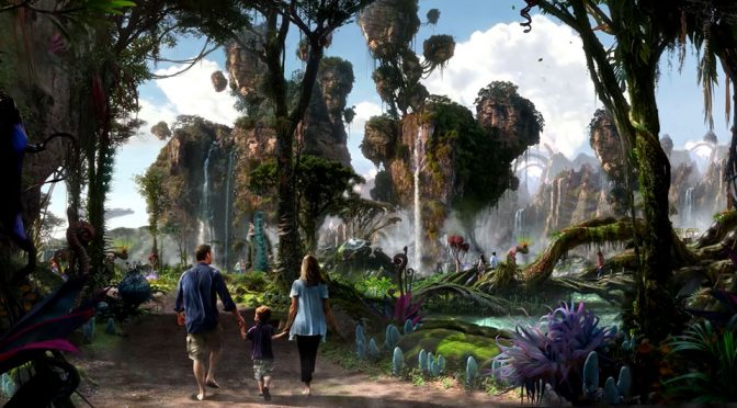 Behind The Scene Of The Upcoming AVATAR-Themed Park At Disney
