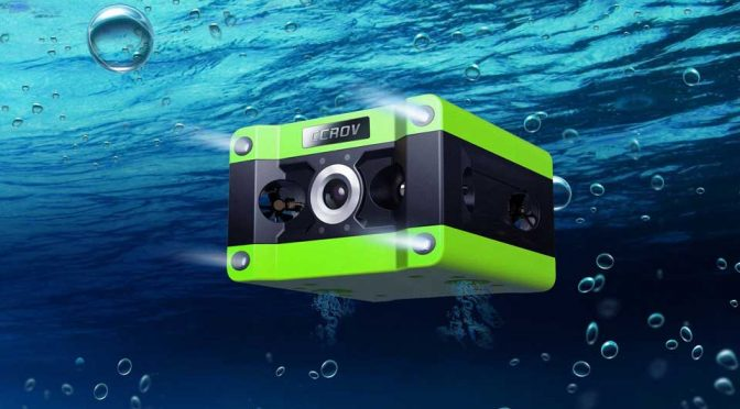 Look, Another Underwater Drone, But This One Is The First To Record In 4K