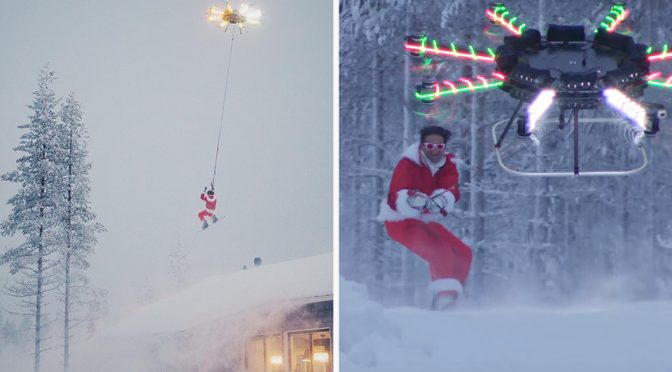 Nothing Much, It Is Just Casey Neistat Being Hauled Into The Air By A Drone
