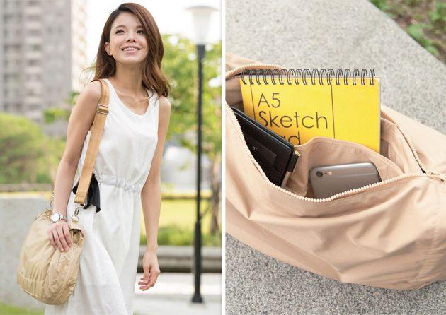 DUOKET Jacket/Bag Hybrid by mininch